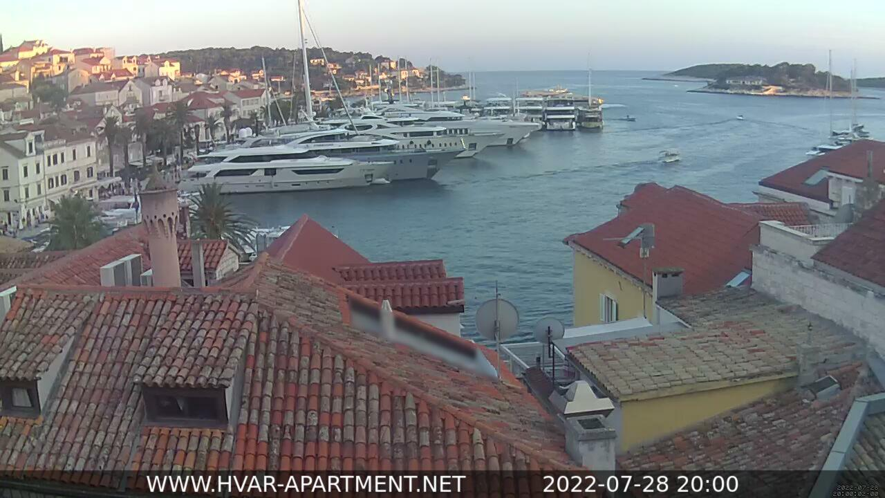Webcam Hvar